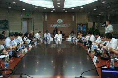 夏兴华亲临首都机场 指导雷雨天气保障工作