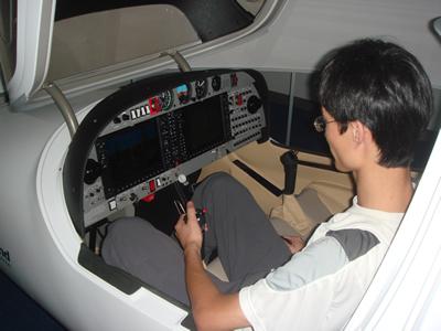仪表飞行程序在航空器驾驶中的应用,钻石系列飞行模拟器操控方法等