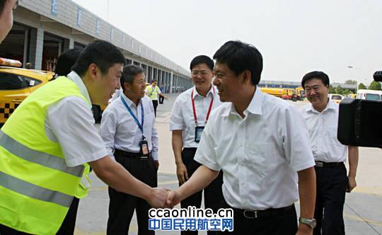 刘雪松刘彦斌马正深入首都机场生产一线