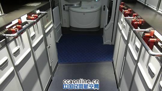 厦航波音787客机厨房 摄影:安利国
