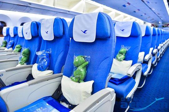 两舱旅客可免费使用机上wifi