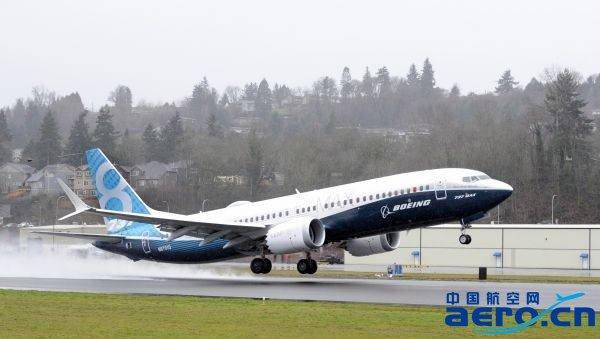 波音737max飞机成功首飞
