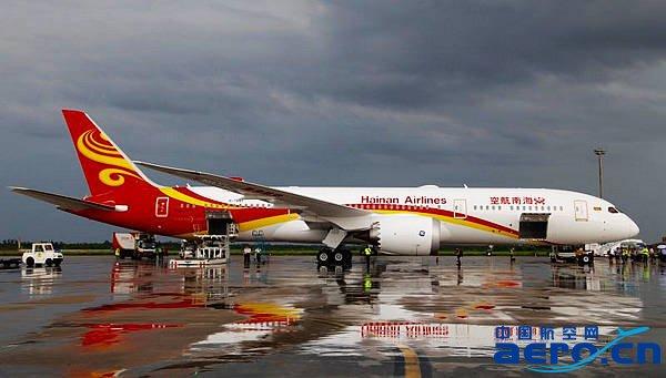 hu7281将由海口飞往北京