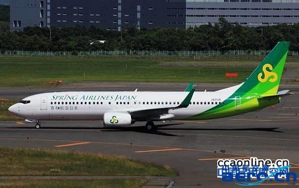 春秋航空日本株式会社波音b737-800飞机