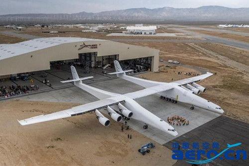 世界最大的飞机首次亮相