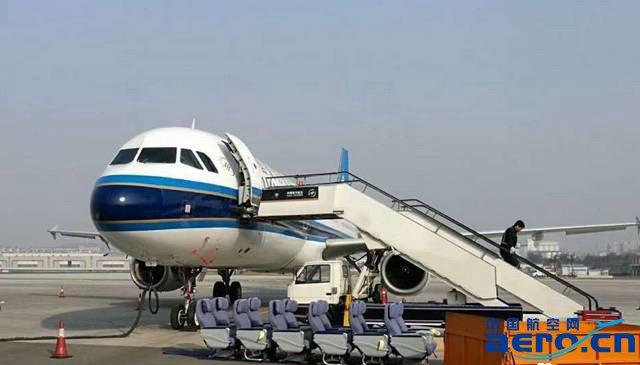 南航大连飞机维修厂完成首架飞机客舱座椅改装任务